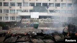 Маріуполь, фото 9 травня 2014 року