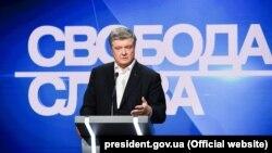 Порошенко висловив свою позицію стосовно проведення дебатів на НСК «Олімпійський»