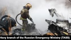 Крушение Ми-8, иллюстративное фото