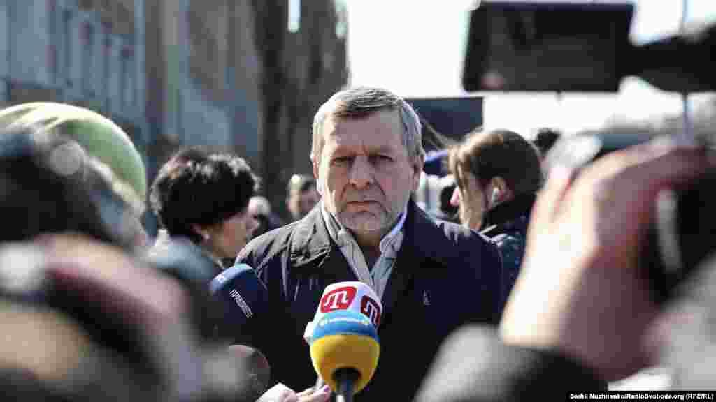Заместитель главы Меджлиса крымскотатарского народа Ахтем Чийгоз
