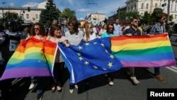 На «Марші рівності» у Києві, червень 2016 року