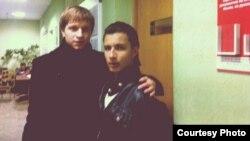 Упраўляючы кампаніі-апэратара мэдычнага турызму Med Travel Belarus Ўлад Андросаў з пацыентам зь Лібіі