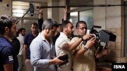 حامد رجبی نفر سوم از راست