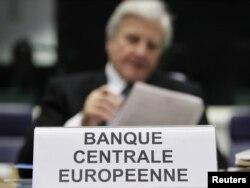 Predsednik Evropske centralne banke Žan Klod Triše, oktobar 2011.