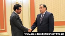 5 июня в Душанбе прошли переговоры президента Таджикистана Эмомали Рахмона и главы МИД Афганистана Зирара Османи