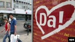 Posteri uoči referenduma o nezavisnosti Crne Gore