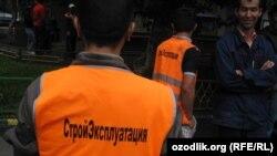 Russia/Uzbekistan - uzbek migrants in Moscow, 26 July 2013