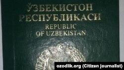 Uzbekistan - queues for passport