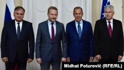 Lavrov je u razgovoru sa članovima Predsjedništva ponudio da se BiH uključi u izgradnju sada već gasovoda Turski tok