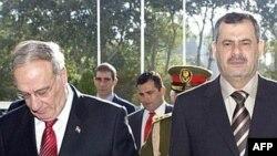 وزير الدولة لشؤون الأمن الوطني شيروان الوائلي ووزير الدفاع عبد القادر محمد جاسم