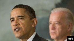 Preşedintele Barack Obama şi vice-preşedintele Joe Biden