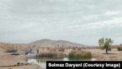 Jezerce pored jezera Urmija uslikano 2015. godine od strane Šolmaz Darjani