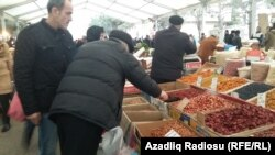 Novruz yarmarkası. Foto arxiv