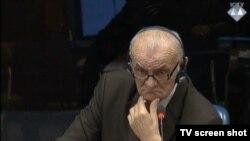 Milivoj Simić u sudnici