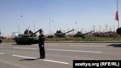 Әскери парад. Астана, 7 мамыр 2014 жыл.