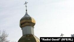 Церковь в Душанбе