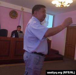 """""""Ақбұлақ"""" АҚ президенті Асан Ыбыраев."""
