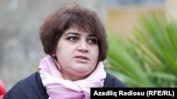Хадиджа Исмаилова, репортер Азербайджанской редакции Азаттыка.
