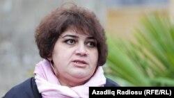 Әзербайжан журналисі Хадиджа Исмайыл.