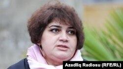 Журналист Хадиджа Исмаил. Архивное фото