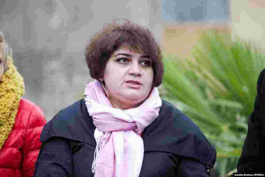 Хадиджа незадолго до ареста.