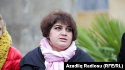 "Хадиджа Исмаилова, репортер Азербайджанской редакции ""Азаттыка""."