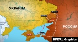 Маршрути постачань кримської зброї на Донбас