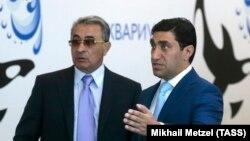 Ильгам Рагимов (слева) был однокурсником Путина, а теперь – совладелец одной из крупнейших российских компаний