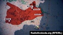 В июле 2014-го без украинских военных и пограничников остаются 50 километров рубежа