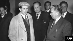 "Milovan Djilas's (left) relationship with Yugoslav leader Josip Broz Tito was complex. Asked about Tito toward the end of his life, Djilas simply replied, ""I cannot say that we are friends, but neither can I say that we are enemies."""