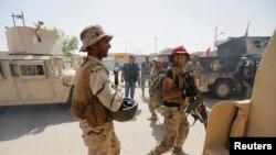 Иракские войска в центре Фаллуджи, 17 июня 2016