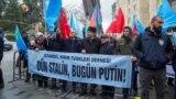 Истанбулда Русиянең Кырым сәясәтенә каршы протест чарасы, 25 февраль 2018