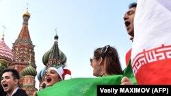 Иранские болельщики в Москве