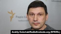 "Андрей Цаплиенко, журналист телеканала ""1+1"""