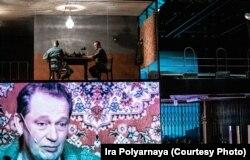Бывший палач Геннадьич (Владимир Майзингер) даёт интервью к пятилетию введения моратория