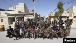 مقاتلون من اكراد سوريا في قوات الحماية الشعبية