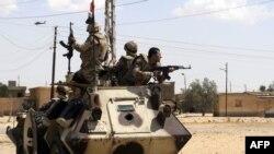 Газа секторындағы Египет әскерилері (Көрнекі сурет).