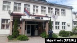 Полициската станица во Зворник.