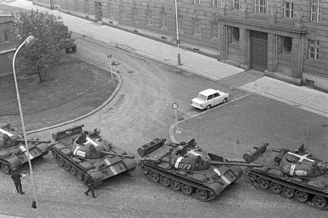 Як называлася апэрацыя ўводу войск у Чэхаславаччыну?