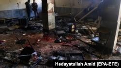 Pamje të sulmeve të mëparshme në Afganistan, foto ilustruese