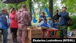 Мастер-класс по надеванию противогазов в Кирове