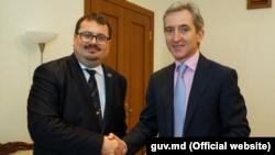Ambasadorul UE, Peter Michalko cu Iurie Leancă
