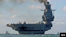 """Авианесущий крейсер """"Адмирал Кузнецов"""" в Средиземном море"""