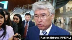 Мәдениет және спорт министрі Арыстанбек Мұхамедиұлы. Алматы, 23 мамыр 2016 жыл.