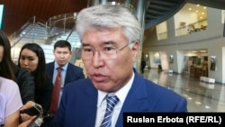 Kazakh Culture and Sports Minister Arystanbek Mukhamediuly (file photo)