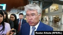 Gazagystanyň medeniýet we sport boýunça ministri Arystanbek Muhamediuly, Astana, 23-nji maý, 2016