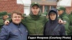 Гадель Фахриев (слева), Азат Мифтахов (справа)
