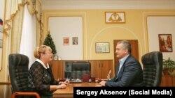 Ірина Ківіко (л) і Сергій Аксенов (п)