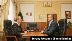 Ірина Ківіко і Сергій Аксенов, архівне фото