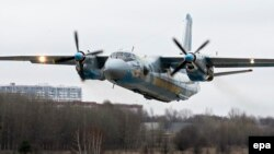 Avion de tip Antonov-26. Imagine de arhivă.